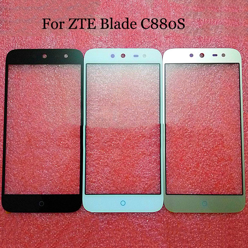 A+Quality For <font><b>ZTE</b></font> Blade <font><b>C880S</b></font> TouchScreen Digitizer For <font><b>ZTE</b></font> Blade C880 S frash 3 Touch Screen Glass panel Without Flex Cable image