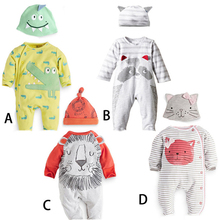 Baby Boy Clothes 2017 Spring Baby Rompers Cotton Baby Boys Clothing Sets Newborn Baby Clothes Roupas Bebe Infant Jumpsuits 3pcs baby clothes set gentleman baby boy rompers boys rompers cotton sets