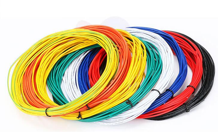 Free shipping <font><b>100M</b></font> UL1007 solder wire electronic wire <font><b>24AWG</b></font> cable jump wire 1.4mm PVC Cable UL1007 300V/80C 11/0.12TS image