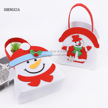 New Christmas Cartoon Candy Bag Party Toy Creative Gift Portable