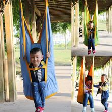 Outdoor Indoor Children Kids Swing Chair Hanging Seat Yard Hammocks Swing Sleeping Bag Amusement Park Sports Toy Chair Swings(China)