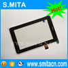 "7"" Tablet TPC1219 Ver1.0 TPC0533 touch screen panel Digitizer Glass Sensor For Tablet PC Mid Repair free shipping"