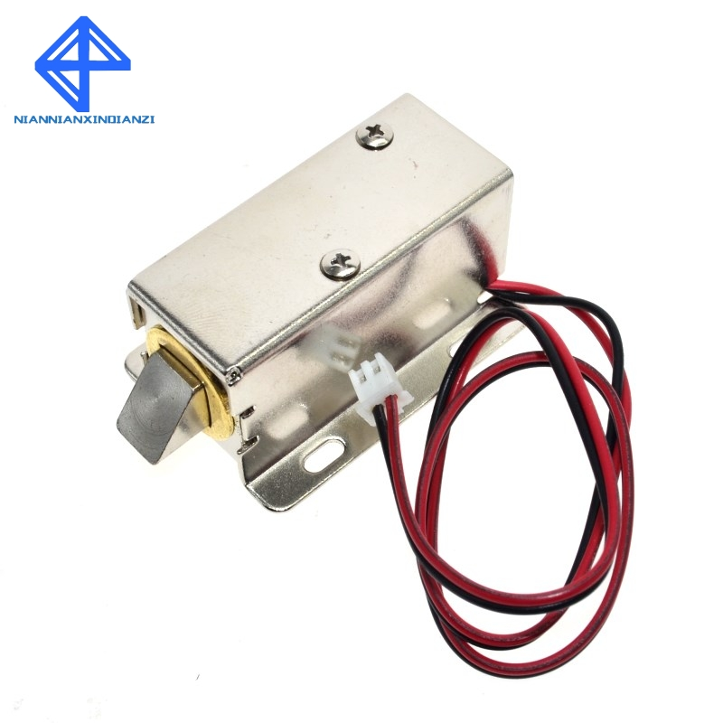 Electronic Components & Supplies Steady Wavgat Dc 12v Electric Solenoid Lock Tongue Upward Assembly For Door Cabinet Drawer