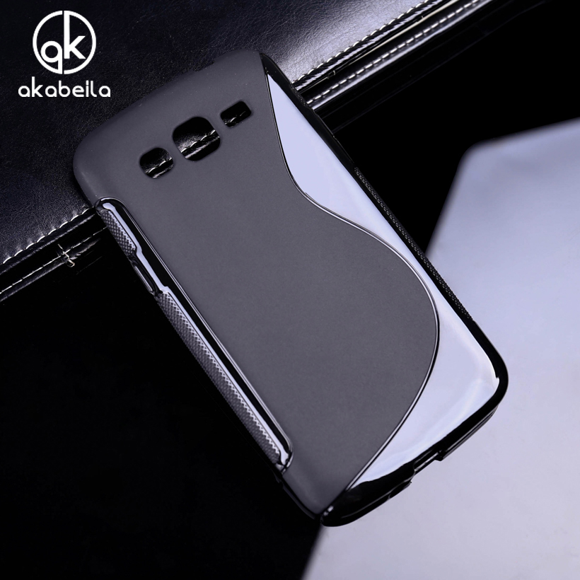 AKABEILA Silicone Phone Cover <font><b>Case</b></font> For <font><b>Samsung</b></font> Galaxy <font><b>Grand</b></font> <font><b>2</b></font> Duos <font><b>G7102</b></font> G7105 G7106 G7108 G7109 G7100 G71S <font><b>Case</b></font> S Back Cover image