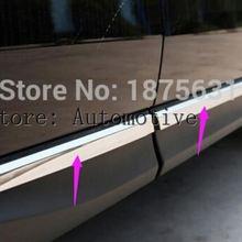 ABS Хромированная Боковая дверь тела литье под давлением отделка для Subaru Forester 2013