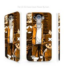 One Piece White Case Cover for LG