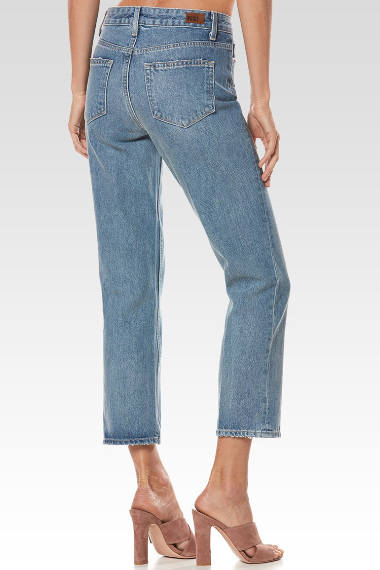 Haute Droite Femmes Blue Jeans Nouveau Taille Vintage Mobtrs Pantalon Femelle denim Cowboy Crayon De Light Mince Mode Lâche Blue IxPwxfq0