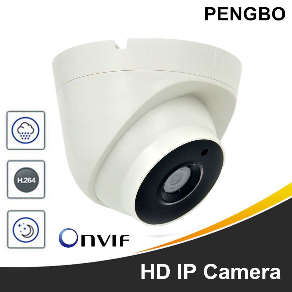 PENGBO HD IP Camera 1080P Indoor Outdoor Dome Cam IR Lens 1MP 2MP 5MP IP CCTV Security Camera Network Onvif P2P Android iPhone цена 2017