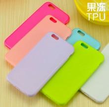 Caso macio tpu silicone suave coque para apple iphone 6 plus 6 s plus pele colorida plugue à prova de poeira capa capa para iphone6 plus