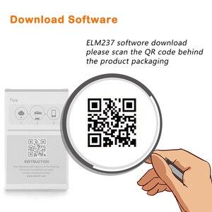 Image 5 - (10 Pcs)ELM 327 V1.5 OBD2 ODB2 Bluetooth Scanner For Android ELM327 V1.5 PIC18F25K80 OBD OBD2 Auto Car Diagnostic Scanner Tool