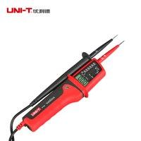 UNI T UT15C LCD Display Waterproof IP65 Type Voltage Tester voltmeter voltimetro voltage meter electric tester diagnostic tool