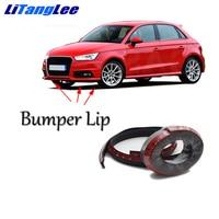 Litanglee For Audi A1 2010~2016 Car Modification Parts / Bumper Front Lip Deflector Lips / Anti Scratch / High Quality