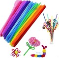 100pcs/Set Chenille Stems Colorful Sticks Kindergarten Kids DIY Handcraft Material Pipe Creative Educational craft art Toys