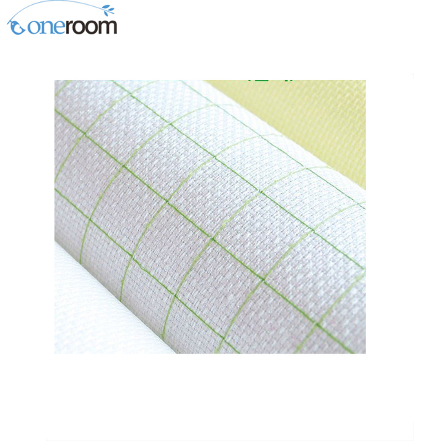 oneroom Top Quality 4CT 4ST Cotton Pre-grid Grided Cross Stitch Canvas  Fabric 88ce633187cb