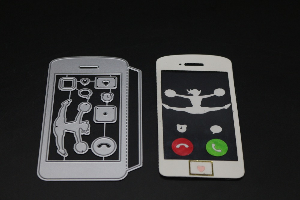 DIY Metal Cutting Dies Stencil Scrapbook Embossing Album Card Paper Phone Craft