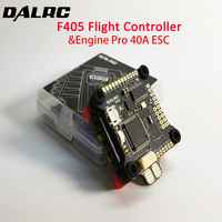 DALRC Engine Pro 40A 4in1 ESC 3 5S Blheli_32 DSHOT1200 Ready 4 In 1 Brushless ESC 30.5*30.5mm with F405 F4 Flight Controller