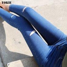2016 Fashion high quality Women Stretch Skinny Slim jeans Female jeans Pencil Denim women jeans Ladies