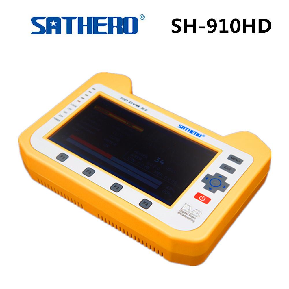 Prix pour Sathero SH-910HD Satellite TV Récepteur DVB-S/S2 Numérique Mètre Par Satellite En temps Réel analyseur de Spectre Signal Finder Satellite