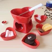 Столовые приборы для сыра трения блюдо буфет CERAM фрукты шоколад фондю лед печь для крема посуда набор Досуг набор инструментов для приготовления пищи