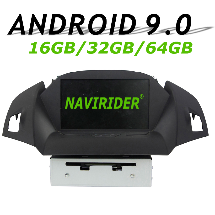 Navirider GPS navigation For Ford KUGA II C-MAX full touch screen Car android 9.0 8core 64gb rom radio bluetooth player stereoNavirider GPS navigation For Ford KUGA II C-MAX full touch screen Car android 9.0 8core 64gb rom radio bluetooth player stereo