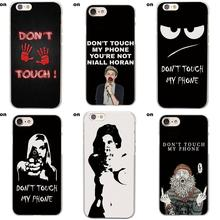 Cute Phone Cases Don't Touch My Phone Spider Man Happy Bitch For Sony Xperia Z Z1 Z2 Z3 Z4 Z5 compact Mini M2 M4 M5 T3 E3 XA