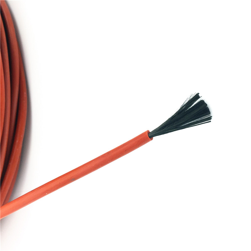 10M 12K 33ohm / M Infrared Heating Floor Heating Ther Cable System Of 3mm Silica Gel Carbon Fiber Wire Used In 220v Voltage 150w 1