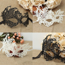 1PC Women Black Sexy Lace Mask Eye Mask For Masquerade Party Carnival Fancy Dress Costume Cosplay Mask