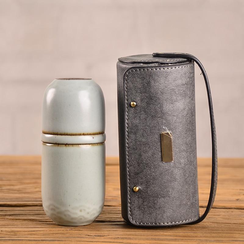 Portable Chinese Ceramic Travel Teacups 3