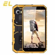 EL W9 IP68 Mobile Phone Android 6.0 Inch FHD MTK6753 Octa Core 2GB+16GB Phones Dual Sim Touch Unlocked Waterproof Smartphone 4G