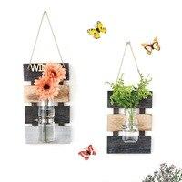 Kreative wand wasser kultur vase wand hängende dekoration wohnzimmer esszimmer wand dekoration wohnzimmer wandbehang wand decorati