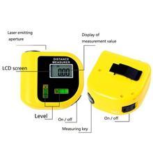 Buy online 18M Mini Ultrasonic Digital Tape Measure Laser Range Finder Distance Meter & Laser Pointer Rangefinder Level Tool