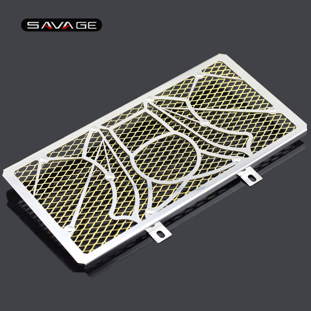 Radiator Grille Guard Cover Protector For KAWASAKI ER-6N ER-6F NINJA 650 2012-2016 12 13 14 15 16 ER6N ER6F NINJA650 ER 6N/6F for kawasaki er 6n 2009 2015 ninja 650 er 6f er 6f 2009 2015 balance shock front fork brace gold