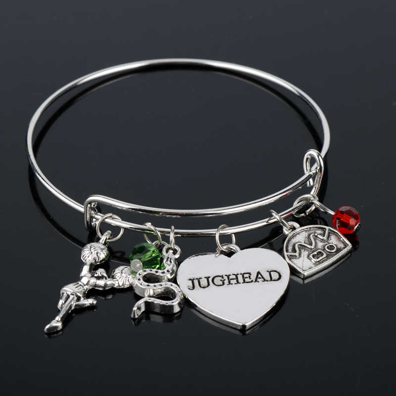dongsheng Riverdale Bangle Betty Jughead Jones Wish Bracelet Southside Serpents Riverdale Vixens Jughead Jewelry for Women Girl