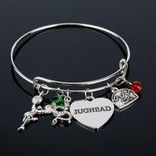 dongsheng Riverdale Bangle Betty Jughead Jones Wish Bracelet Southside Serpents Vixens Jewelry for Women Girl