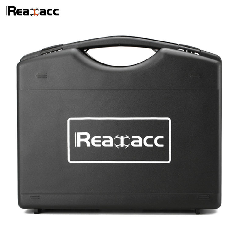 Original Realacc Plastic Hardshell Suitcase Hand Bag Carrying Case Box For Hubsan H501S RC Quadcopter Multirortor Black travel aluminum blue dji mavic pro storage bag case box suitcase for drone battery remote controller accessories