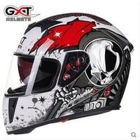 Hot sale Motorcycle Helmet Modular Moto Helmet With Inner Sun Visor Safety Double Lens Racing Full Face Helmets