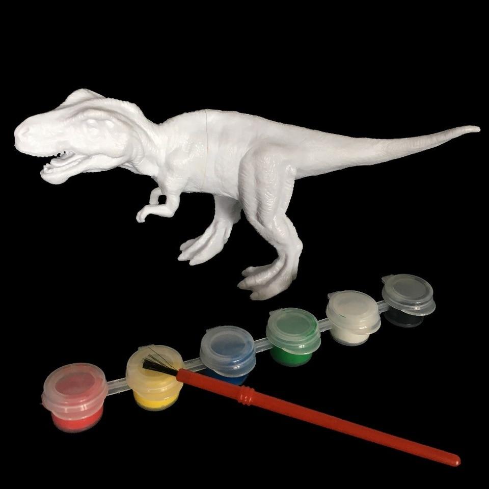 Diy Boyama Boyama Hayvan Dinozor Brachiosaurus Stegosaurus