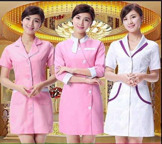 Nurse Uniform Beautician Overalls Medical Clothing Beautician Dress Beauty Salon Uniforms