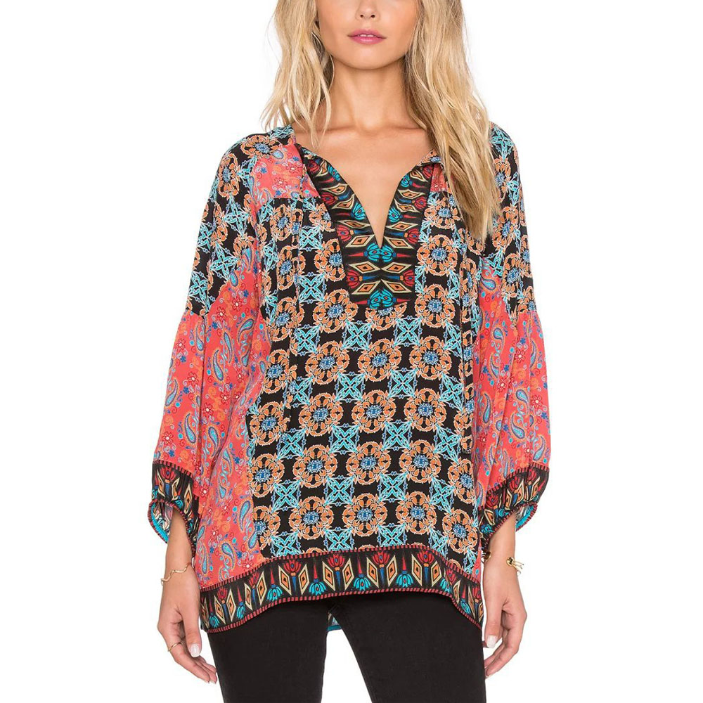 Online buy wholesale gypsy blouse pattern from china