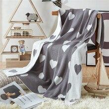 Мягкое одеяло для кровати, уютное, для путешествий, в клетку, повседневное, для отдыха, теплое зимнее одеяло, s, вязаное одеяло, 90*110 см, с принтом, для кровати