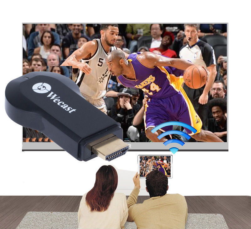 imágenes para Reparto de teléfono adaptador de vídeo a hdmi tv dongle wifi inalámbrico para ipad pro air mini 4 5 6 iphone 5 6 7 plus 5S 6 s android samsung htc
