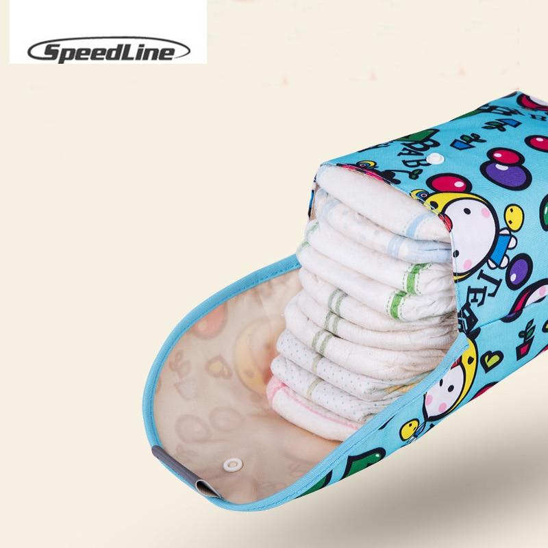 2019 Big Baby Diaper Bags Maternity Bag Waterproof Wet Cloth Reusable Diaper Cover Dry Wet Bag Zipper Diaper Bags Baby Care