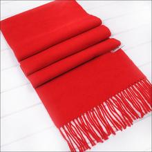 drop shipping Newest 2018 hot women's scarves thickening chaddar scarf fashion Pashmina unisex shawls Chinese red scarf square