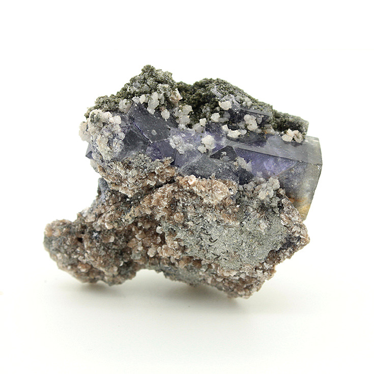 Yaogangxian produce mica purple fluorite mineral specimens teaching specimens small ornaments favorites Extraordinary Gifts
