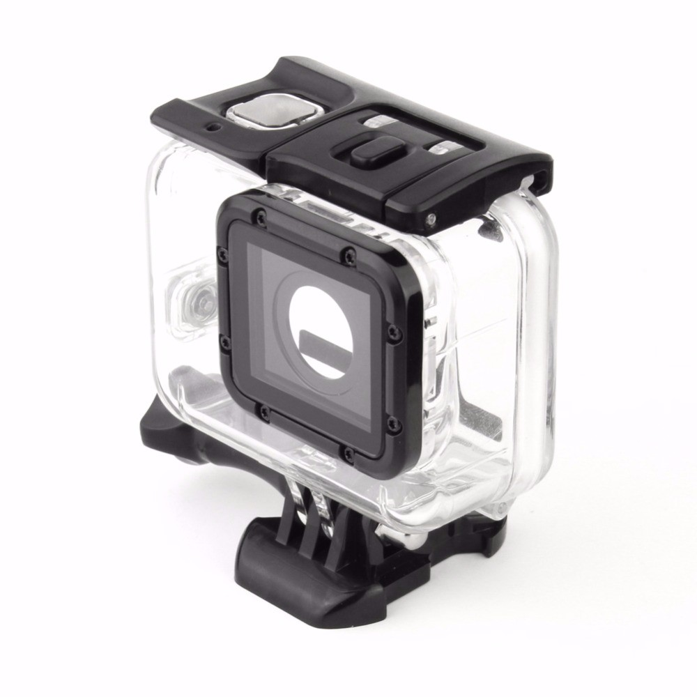 High-Quality-For-GoPro-Hero-5-45M-Waterproof-Case-Gopro-Underwater-Protective-Shell-Housing-Box-For