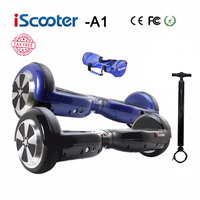 IScooter Hover Board Electric Self Balancing Scooter Hoverboard Smart Wheel Unicycle Standing Skateboard Drift Airboard