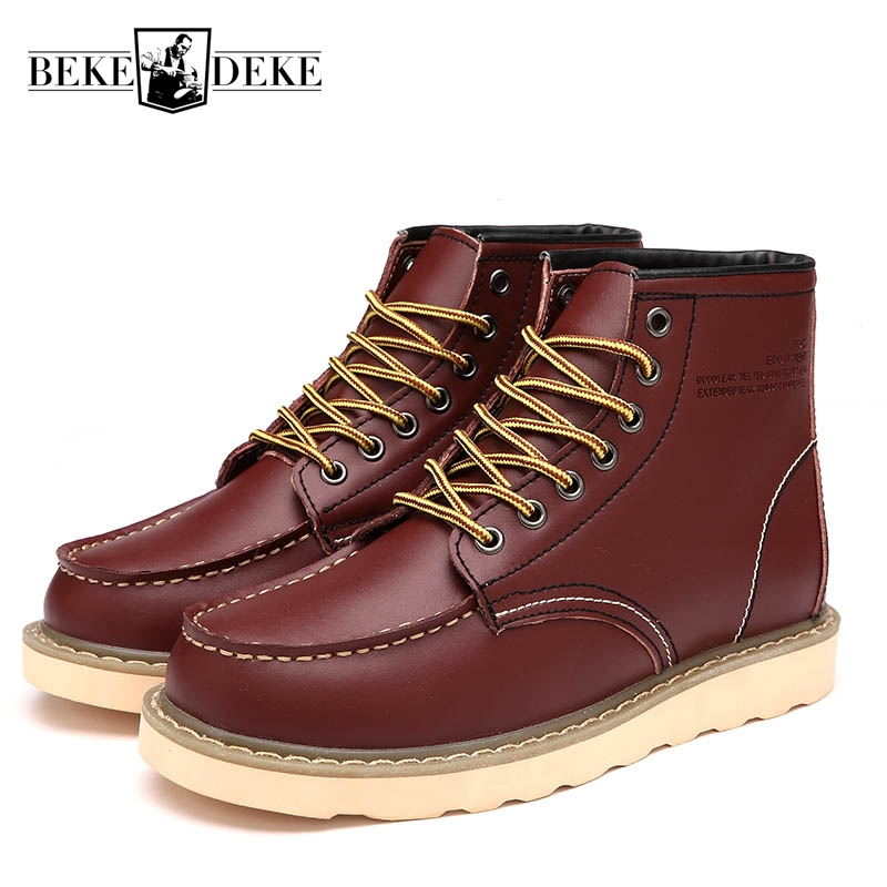 Hot Sale Men Winter Fashion High Help Casual Shoes Male Warm Footwear Lace Up Fur Lining Flat Breathable Big Size 44 hot sale men s shoes casual shoes for men winter autumn low top patchwork canvas fashion lace up mens classic casual shoes