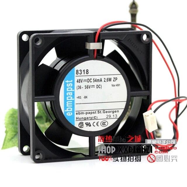 83188032 48V 8CM 0.054A 2.6W inverter cooling fan