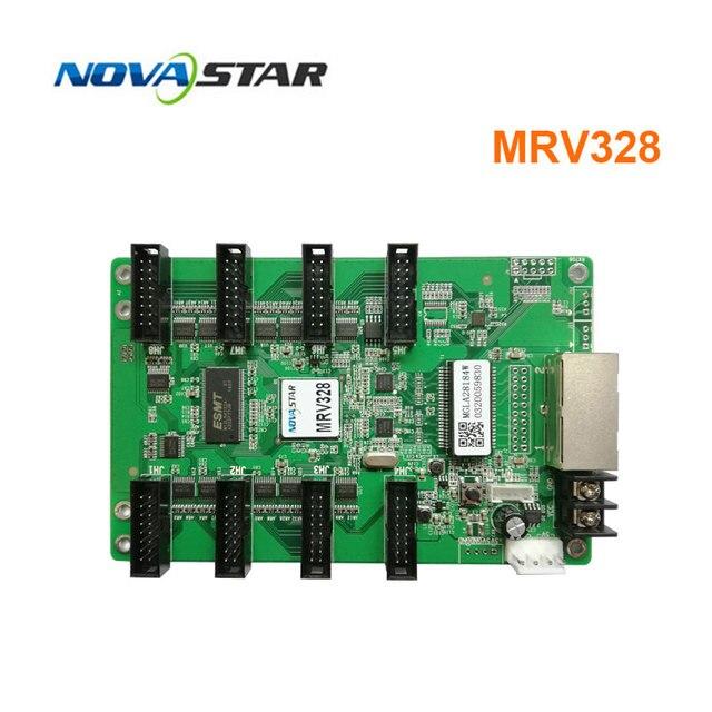 Le système de contrôle Novastar MRV328 remplace la carte de réception mrv308 écran affichage led écran de led matricielle rvb polychrome dintérieur extérieur