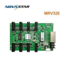 Novastar ระบบควบคุม MRV328 เปลี่ยน mrv308 จอแสดงผล LED รับการ์ดกลางแจ้งในร่มสี RGB Matrix LED หน้าจอ